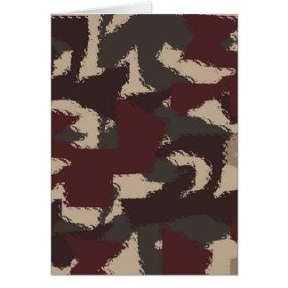 Les militaires abstraits camouflent le motif carte