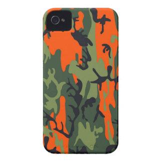 Les militaires oranges et verts camouflent des coque iPhone 4
