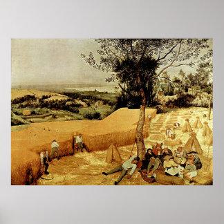 Les moissonneuses de Pieter Bruegel (1565)