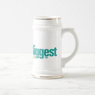 Les mondes plus grands Bière blanche Stein Tasse À Café
