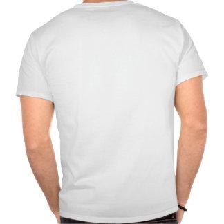 Les mondes plus grands Blanc 2 du T-shirt des ho