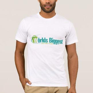 Les mondes plus grands : Blanc adapté de T-shirt