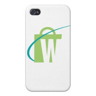 """Les mondes plus grands : cas de l'iPhone """"W"""" Coque iPhone 4"""