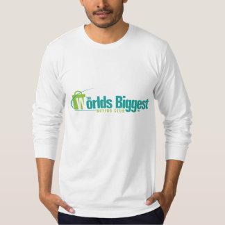 Les mondes plus grands : Le long T2 de la douille T-shirt