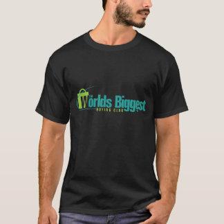 Les mondes plus grands : T-shirt noir bilatéral