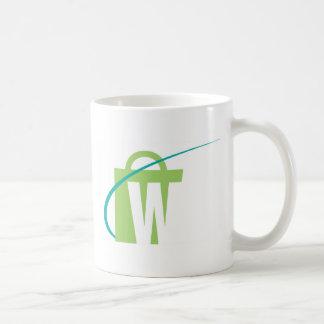 """Les mondes plus grands : Tasse blanche de """"W"""""""