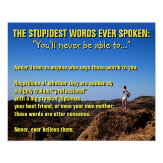 Les mots les plus stupides jamais parlés - de