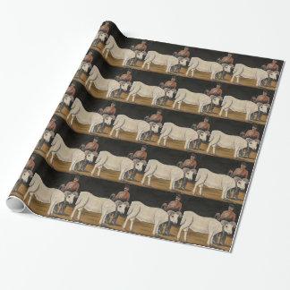 Les moutons par Niko Pirosmani Papier Cadeau