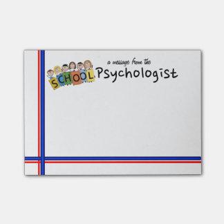 Les notes collantes du psychologue d'ÉCOLE Post-it®