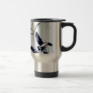 Les oiseaux mug de voyage