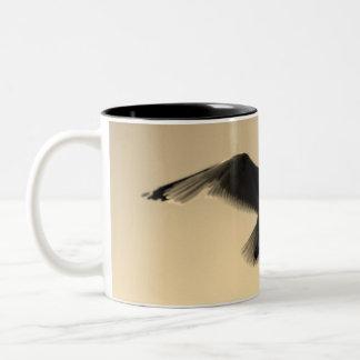 Les oiseaux tasse 2 couleurs