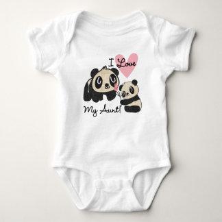 Les pandas I aiment ma tante Body