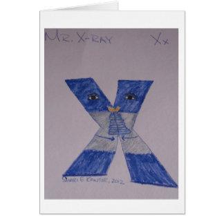 Les personnes d'alphabet, M.X-Ray obtiennent la Carte