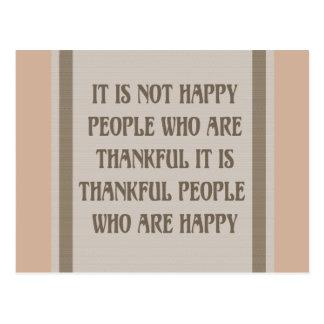 Les personnes heureuses sont les cartes de voeux