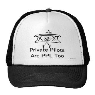 Les pilotes privés sont PPL aussi Casquette De Camionneur
