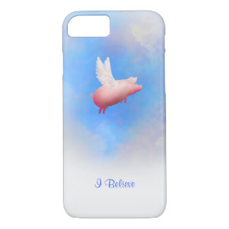 Les porcs Mouche-Je croire le coque iphone