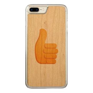 Les pouces lèvent Emoji Coque En Bois iPhone 7 Plus
