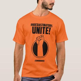 Les Procrastinators unissent le T-shirt