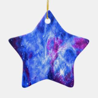 Les rêves de l'amant ornement étoile en céramique