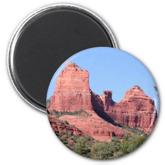 Les roches s'approchent de Sedona, Arizona Aimant