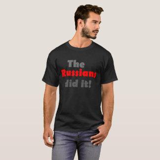 Les Russes l'ont fait T-shirt drôle