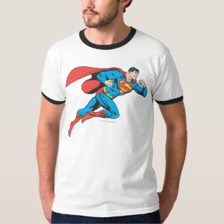 Les sauts de Superman redressent T-shirt