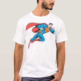 Les sauts de Superman redressent T-shirt