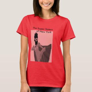 Les soeurs superbes de New York - T-shirt rose 1