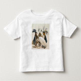 Les soldats de zoulou d'Army du Roi Panda's, T-shirt Pour Les Tous Petits