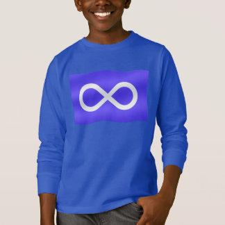 Les sweatshirts de l'enfant de drapeau de Metis de