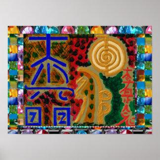 Les symboles du maître curatif de REIKI Karuna