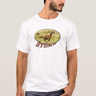 Les T-shirts des femmes de faune d'hyène