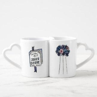 Les tasses des amants de poésie