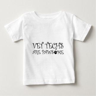 Les technologies de vétérinaire sont Pawsome T-shirt Pour Bébé