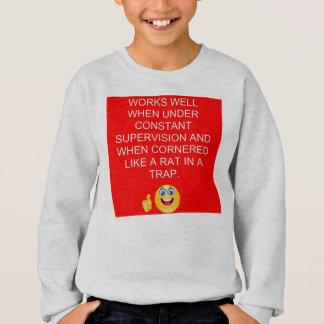Les travaux jaillissent sweatshirt de Hanes