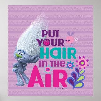 Les trolls | ont mis vos cheveux dans le ciel 2 poster