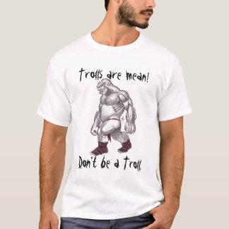Les trolls sont moyens ! (nouveau placement de t-shirt