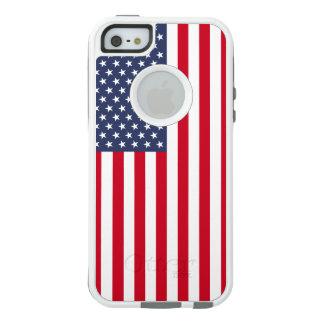 Les USA - Cas d'Iphone Se/5/5s/de drapeau Coque OtterBox iPhone 5, 5s Et SE
