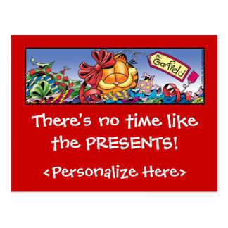 Les vacances de Garfield Logobox présentent des Carte Postale