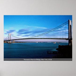 Les Verrazano-Étroits jettent un pont sur, New Poster
