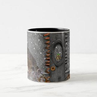 L'espace punk de vapeur - tasse de café