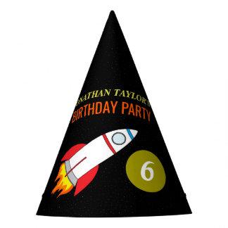 L'espace Rocket à l'anniversaire d'enfants de lune Chapeaux De Fètes