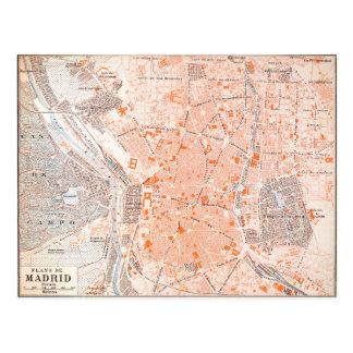 L'Espagne : Carte de Madrid, C1920