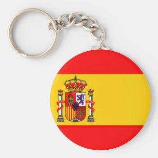 L'Espagne Porte-clé Rond