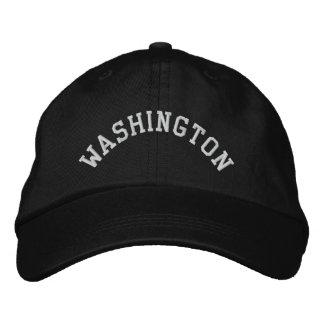 L'état de Washington Brodé Casquette Brodée