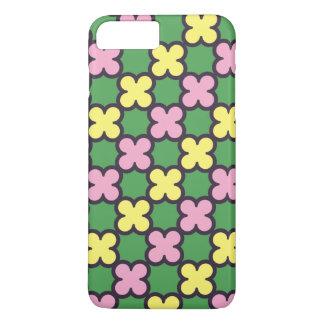 L'été mignon colore le motif de Quatrefoil Coque iPhone 7 Plus