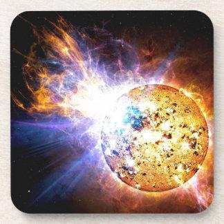 L'étoile de demi-portion lâche la NASA géante de Dessous-de-verre