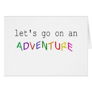 Lets vont sur une carte d'aventure