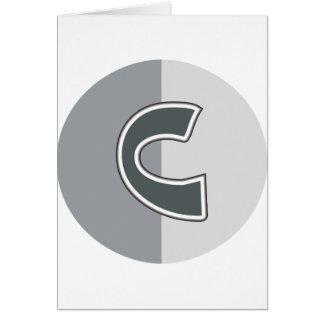 Lettre C Carte