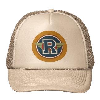 """Lettre faite sur commande """"R """" de monogramme Casquette Trucker"""